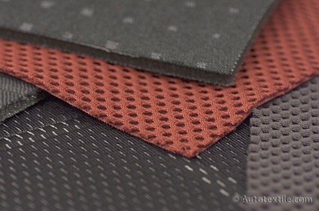 Automotive interior textiles fabrics for car seat covers - Car interior upholstery material ...
